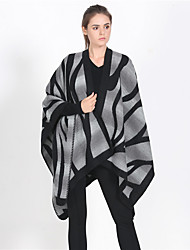 cheap -Women's Active Rectangle Scarf - Striped Multifunctional