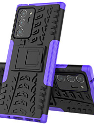 cheap -Phone Case For Samsung Galaxy A80 A70S A70 Shockproof with Stand Back Cover PC Phone Case For Galaxy A60 A50S A50 A40S A40 A30S A30 A20e A20 A10e A10 A8S A2 Core M40 M30 M20 M10