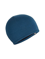 cheap -pocket cold weather hats, one size, prussian blue/midnight navy