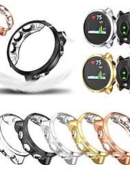 cheap -Electroplate Transparent TPU Case Cover For Garmin Forerunner 245 t watch accessories Protector