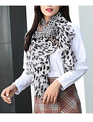 cheap -Women's Active Rectangle Scarf - Leopard Washable