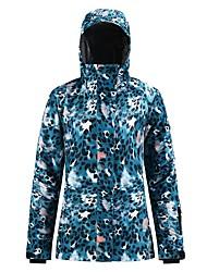 cheap -Women's Ski Jacket Snow Jacket Waterproof Windproof Warm Breathable Winter Top for Skiing Snowboarding Winter Sports