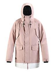 cheap -Women's Men's Ski Jacket Skiing Snowboarding Winter Sports Waterproof Windproof Warm 100% Polyester Top Ski Wear