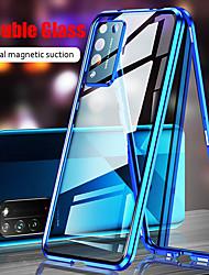 cheap -Phone Case For Huawei P40Pro P40Lite P30 Pro Mate 30 Pro Mate20X Nova7Pro Nova6SE Nova5 Honor 30 X10 Max Shockproof Flip Transparent Full Body Cases Transparent Tempered Glass Metal