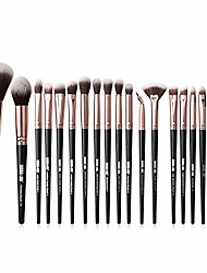 cheap -makeup brushes set 22pcs, premium cosmetic foundation eye brushes eyeshadow lip blending makeup tool