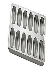 cheap -93230 anderson's nonstick 12-cup madeleine pan, tinned steel, 15.75 x 8-inches, silver (renewed)