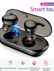 cheap -LITBest Wireless Earbuds TWS Bluetooth 5.0 Earhook Headphones Mini Earphones Touch Control Waterproof Stereo Sport Earbuds for Smartphones Windows