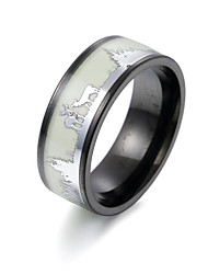 cheap -Ring Fancy Silver Stainless Steel Blessed Artistic Trendy Fashion 1pc 6 7 8 9 10