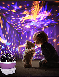 cheap -Novelty Luminous Projector Romantic Starry Sky LED High Quality speakers USB Creative Funny Toys Star Night Light