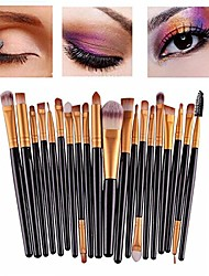 cheap -20pcs/set brushes pro powder foundation eyeshadow eyeliner lip brush tool set