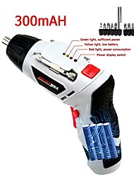 cheap -Cordless Electric Screwdriver Set Household Rechargeable Handheld Drill
