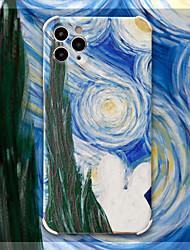 billige -etui til iphone 11 mønster bagcover himmel tegneserie tpu etui til iphone 11 pro max / se2020 / xs max / xr xs 7/8 7/8 plus