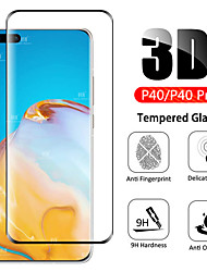 cheap -P40 3D curved tempered glass on for Huawei P40 Pro Plus 5G full screen protector 9H HD protective film for Huawei P40