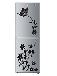 cheap -High Quality Creative Refrigerator Sticker Butterfly Pattern Wall Stickers Home Decoration Kitchen Wall Art Mural Decor