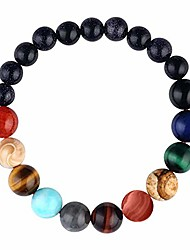 cheap -menglina women stone bead charm bracelet universe galaxy the eight planets nine planets in the solar system guardian star bracelets