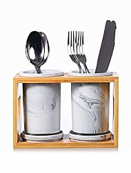 cheap -kitchen utensil steel flatware organizer holder, silverware caddy for spoons knives and forks (set of 2)