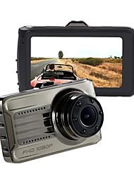 cheap -HD 3 Inch Dual Lens Afbeelding 1080P Verborgen Groothoek Rijden Recorder Dash Cam Dual Lens Auto DVR Camera ondersteuning Omkeren