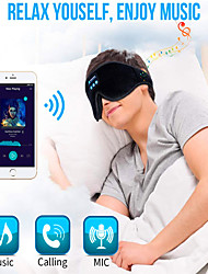 cheap -LITBest D3 Wireless Bluetooth v5.0 Headset Call Music Sleep Breathable Sleep Eye Mask Headphone