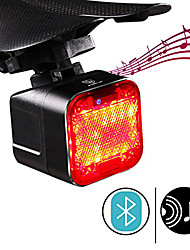 cheap -waterproof bike taillight with built-in bluetooth speaker 2000mah usb rechargeable battery 4 led lighting models