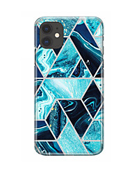 cheap -Case For Apple iPhone 11 Translucent Back Cover Lines / Waves / Transparent TPU For Case iphone 11 Pro/11 Pro Max/7/8/7P/8P/SE 2020/X/Xs/Xs MAX/XR