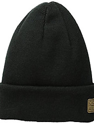 cheap -men's harbor unisex beanie, black, one size