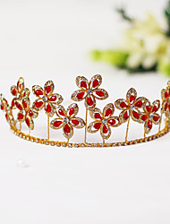 cheap -Chinese Style Headpieces Alloy Headpiece with Crystal / Rhinestone 1 Piece Wedding Headpiece
