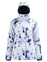 cheap -Women's Ski Jacket Skiing Snowboarding Winter Sports Waterproof Windproof Warm 100% Polyester Top Ski Wear