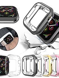 رخيصةأون -watch cover for apple watch series 6 se 5 4 3 2 1 soft clear tpu حامي الشاشة لـ iwatch 42mm 38mm 44mm 40mm