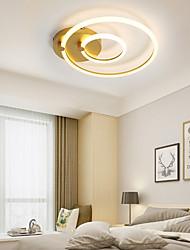 cheap -48 cm Geometric Shapes Flush Mount Ceiling Light Aluminum Painted Finishes LED Modern 110-120V 220-240V