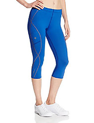cheap -women's performance top speed compression tri-pants, cobalt blue, x-large