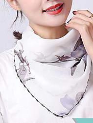 cheap -Women's Active Square Scarf - Graphic Washable