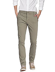 cheap -mens super stretch slim fit trousers pants apl44784t wb2 army green 32