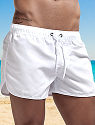cheap -Men's Swim Shorts Swim Trunks Bottoms Breathable Quick Dry Swimming Surfing Water Sports Solid Colored Summer