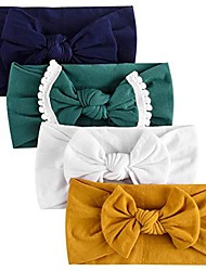 cheap -baby girl headbands and bows, nylon headbands, hair accessories for newborn toddler girls