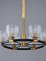 cheap -65 cm Single Design Chandelier Gold Luxury Metal Electroplated Modern 110-120V 220-240V