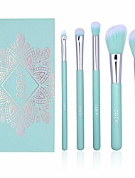 cheap -essential makeup brushes set synthetic eyeshadow foundation blending concealer brushes last longer, apply better makeup make you look flawless(included travel makeup bag)