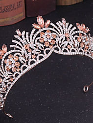 cheap -Women's For Wedding Party Evening Masquerade Jewelry Series Romantic Series Pave Alloy Silver Golden Blue 1pc