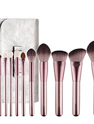cheap -12 Pcs Small Grapes Makeup Brush Set Small Grapes Super Soft Eye Shadow Loose Powder Brush Beauty Tools