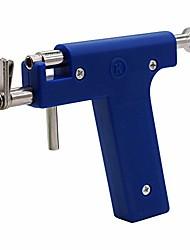 cheap -professional ear piercing gun tool set 98pcs ear studs steel ear nose navel body piercing gun unit tool kit safety pierce tool beauty kit stainless steel metal pierce tool set,deep blue