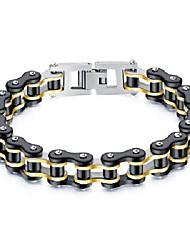 cheap -mens bikers bracelet stainless steel motorcycle bike chain bracelets 8.4 inch