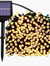cheap -Solar String Light 22M 200LED8 Modes Solar Christmas Lights Waterproof for Gardens Wedding Party Homes Christmas Tree Curtains Outdoors