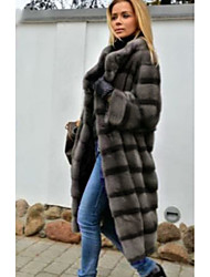 cheap -Long Sleeve Coats / Jackets Faux Fur Wedding Women's Wrap With Fur