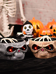 cheap -Halloween Party Toys Ghost Hand Halloween Props Halloween Fruit Dish Skull Skeleton Electric Resin Kid's Adults Trick or Treat Halloween Party Favors Supplies