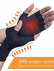 cheap -copper arthritis compression arthritis gloves,88% copper content comfortable gloves for pain relief of rsi, rheumatoid arthritis carpal tunnel,great for joints when sports, housework,computer type