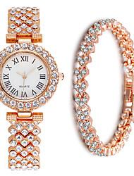 cheap -Women's Steel Band Watches Analog Quartz Modern Style Stylish Elegant Chronograph Cute Creative