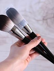cheap -No. 91 Flame Type Large Soft Loose Powder Brush Set Makeup Powder Brush Powder Brush With Cover Makeup Brush