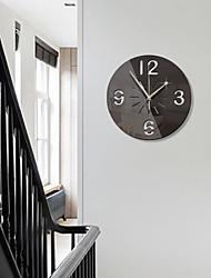 cheap -Personalized Home Furnishing Creative Disc Digital 3D Acrylic Mirror Wall Clock Mirror Silent Wall Clock