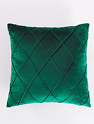 cheap -1 PC Super Soft Velvet Pillow Covers Square Decorative Pillowcase for Bed Couch Sofa Bench