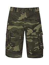cheap -mens camo cargo shorts -durable summer short pants khaki 44w