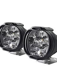 cheap -CNSUNNYLIGHT Motorcycle 8W LED Headlight E-bike Scooters Spot Lights Auto Headlamp Car Fog DRL External Daytime Running Lights 2 PCS